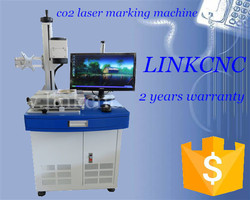 CE standard glasses frame marking laser machine, 80w CO2 laser marking machine