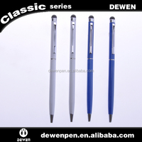 slim delicate and pretty metal pen metal twist ballpen for hotel