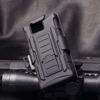 IN STOCK!Future Armor Impact Holster Kickstand Belt Clip Combo Protector Cover Case For SONY Xperia ST25i/U ,For ST25I Case