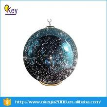 2015 new hot sale Decorative Clear Glass mercury ball hollow glass balls