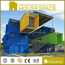 Two Storey Demountable Foldable Flat Pack Container Multi House