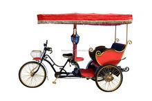 Dutch style family passenger used pedicab rickshaw manufacturers