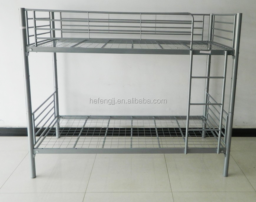 cheap single metal twin bunk bed student bed frame buy