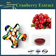 100% Natural extracts Cranberry Extract 5%, 15%, 25%, 30%, 50% Proanthocyanidins/Anthocyanins