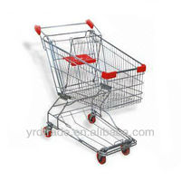 hot sales high quality supermarket shopping trolley cart (Asian Style YRD-Y80L)