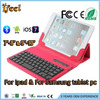 Promotional bluetooth keyboard with leather case for ipad mini with ios android for windows syetem