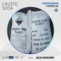 Caustic soda Flakes 99%/NaOH Flakes 99%/UN NO 1823