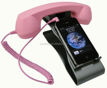 2015 new products telephone handset for mobile retro headset handset cover low price