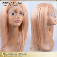 honey blodne mono wigs human hair full lace wigs with baby hair jewish kosher wig with PU