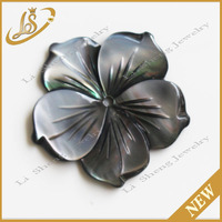 Abalone shell flower shape carving wholesale price
