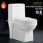 Baixo preço popular- estilo de s- armadilha 225mm/250mm 4 polegadas saída washdown um pedaço wc louça sanitária do banheiro