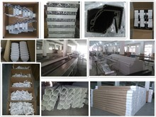 New Products Milky White Color Pvc Gutter And Downpipe System