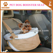 Comfort and luxury pet dog booster dog car safety seat dog chair on car