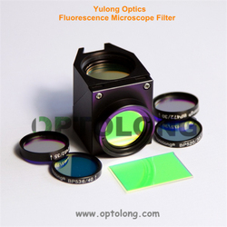 GFP Fluorescence Filter Set Interference Filter For Fluorescent Microscope