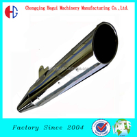high qualitye motorcycle exhaust scooter silencer for Honda 125