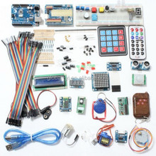 Deluxe Uno R3 Basic Kit Starter Learning Kit For Arduin