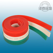 High quality and factory price screen printing squeegee rubber from Shijiazhuang Yangtai/T-shirt silk screen printing process