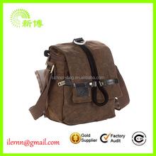 2014 fashion stylish canvas camera bag