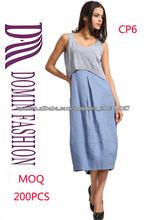 2014 Las últimas Boutique Vestido sin mangas de las señoras elegantes vestidos ocasionales