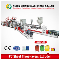 plastic sheet PC PS PE luggage extrusion machine - YX-23P