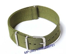 Custom 22mm Canvas Watch Strap Band Sports Military Army New Pattern Professional Nylon watches