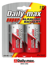 LR20 SIZE D AM1 Alkaline Battery