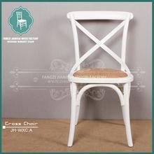 cross back wood chair home use