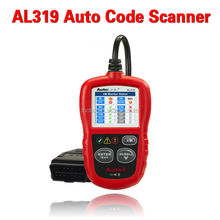 AutoLink AL301 OBD II & CAN Code Reader AL301 Free Update Online Reads and displays Diagnostic Trouble Codes (DTCs)