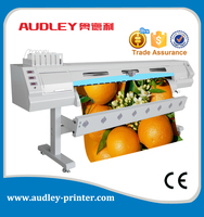 Automatic feeding system for roll materials width max 1.8m. ,most economical inkjet printer ADL-8520