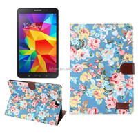 "Flower design Leather cover Case For Samsung Tablet A 9.7 inch T550, for samsung tablet A 9.7"" case leather"