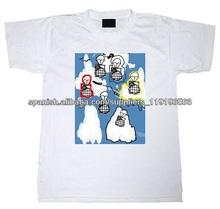 100% algodón para hombre camisetas