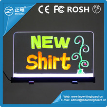 Alibaba best sale magic color changing led message & menu board