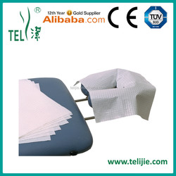 Paper + PE film Flat face cradle cover for massage Trade Assurance supplier
