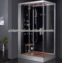 alta qualidade de vapor cabine de duche com rádio fm 6kw lista ce ETL e gerador de vapor com assoalho de madeira