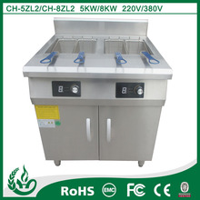 high quality professional commercial potato chip and fish fryer