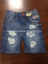 niños denim jeans lamentando 3-15 años de edad los niños / azul claro pantalones lavado de mezclilla. pantalones vaqueros