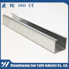 Acero Framing sistema precio competitivo de labios canal C