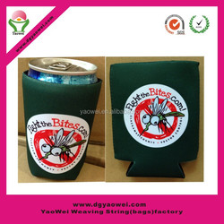 Promotional Durable neoprene beer bottle cover,christmas wine bottle cover,Foam Beer Can Cooler