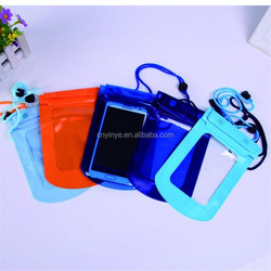 Custom PVC waterproof phone bag, waterproof dry bag,waterproof bag