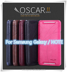 Origina NEW KLD OscarII PU Leather Case Cover for Samsung Galaxy S3 S4 S5 Note2 Note3 Note4