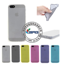 BRG Ultra Thin Soft TPU Original Transparent Case For iPhone 5 Crystal Clear Silicon Back Cover Mobile Phone Bags For IPhone 5