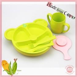 100% Cornstarch Plant-based Eco-Friendly Baby Tableware