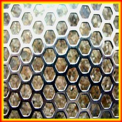Metal Building Materials Low Carbon Iron And Stainless and Aluminum Perforated Metal Mesh
