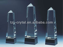 Blank Trophy/Simple Style/K9 Crystal /Size can be customized/Sandblasting is acceptable