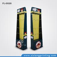Custom Cardboard Paper Floor Display for Gloves