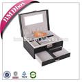nuevos productos para 2014 baratos joyería de madera caja de presentación con la cerradura