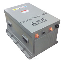 Pure electric car 72V 150AH Lithium ion batteries with suitable BMS