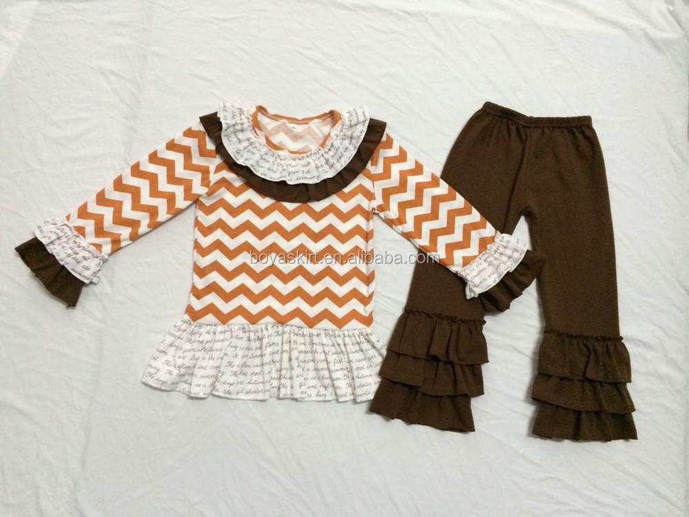 Designer Baby Clothes Girls Fall Top Dress Leggings