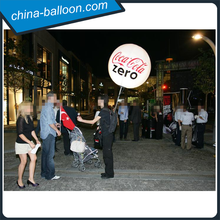 Factory outlet inflatable backpack balloon/ advertising walking balloon
