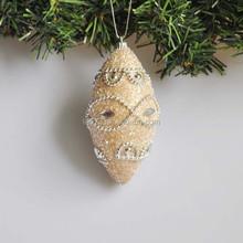 12cm Luxury Polyfoam Bell Christmas Tree Decoration